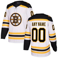 d029b0b8772 Ice Hockey Unisex Full nhl hockey jerseys cheap Mens Boston Bruins Black  Authentic Custom Jersey 2