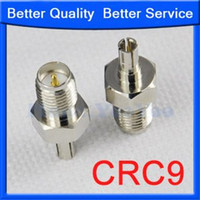 Wholesale Rp Sma Crc9 - Wholesale-CRC9 to RP-SMA male adapter for Huawei 3G Modem antenna