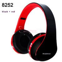 bluetooth stereo kulaklık kulaklık toptan satış-Kablosuz bluetooth stereo katlanabilir kulaklık ahizesiz kulaklıklar kulaklık kulakiçi için mic ile iphone galaxy htc v650