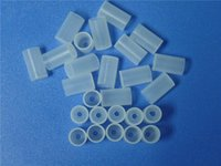 Wholesale Testing Tips Electronic Cigarettes - Drip Tips Cap Disposable Mouthpiece Atomizer Cap Mouthpiece Dustproof Soft Tips Silicone Tests Caps For eGo Series Electronic Cigarette