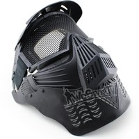 WoSporT Outdoor CS Transformers Ultime Masque Acier Maille Full Face Tactique WarGame tactique capuche airsof tactique