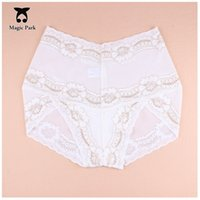 MagicPark S-M White High Rise Lace Sexy Women Panties Briefs Intimates Panties Briefs Милое женское нижнее белье Knickers Lingerie