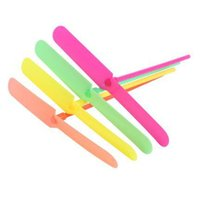 Wholesale Dragonfly Parts - Girls Toys Hot Children Classic Safety and Plastic DIY Toys Fashion Kids Candy Color and Intelligence Development Bamboo Dragonfly Toy