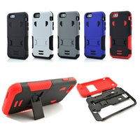 Wholesale Note Duty - Hybrid Heavy Duty Durable Rugged Defender TPU PC Shockproof Armor Hard Case Cover for iPhone 6   6 plus Samsung Galaxy Note 4