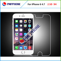 Wholesale Tempered Glass Screen Protector For iPhone mm D Explosion Proof Screen Film Guard For iPhone6 with retail package