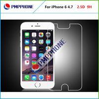 iphone cam ekran koruyucusu perakende toptan satış-Temperli Cam Ekran Koruyucu iPhone 6 Için 0.33mm 2.5D Patlamaya dayanıklı Ekran Filmi Guard Için perakende paketi ile iPhone6 4.7