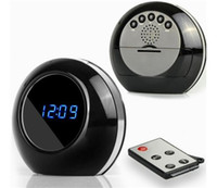 Wholesale Motion Detection Function - Multi Function Alarm Clock Cam 1280X960 Clock Camera Audio Video Recorder Camcorder Motion Detection Security DVR