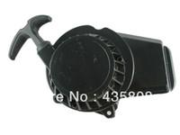 Wholesale Starter For Pocket Bike - Black Aluminum Pull Starter Start Recoil 47 49CC Mini Pocket Bike ATV PU10