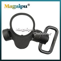 Wholesale Troy Qd Mount - Troy Dual Side QD Sling Swivel Full Steel Mount Attachment For GBB Black Free Shipping