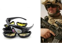 Wholesale Desert Storm Sun Glasses - Daisy C5 Desert Storm Sun Glasses Goggles Tactical eye Protective UV400 Glasses wholesale