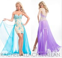 Kurze Heimkehr Kleider Hellblaue Himmel Spitze Schatz Mantel Backless Appliques Party Cocktail Backless Mit Abnehmbare Zug Prom Kleider