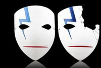 ingrosso giapponese caldo pieno-Maschere giapponesi di alta qualità più scure che nere Cosplay Hei Lee Maschere anime Hot New Home Decor Resina di Halloween Mezza / Full Face Mask
