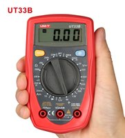 Wholesale Uni Ball - Mini Palm Size UNI-T Digital Multimeter Auto Range Can Test AC DC Current Transistor LCD Display Handheld New +B