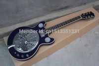 Wholesale Dobro Resonator - wholesale Free Shipping Wholesale High Quality maestro Dobro Resonator Purple Electric Guitar In stock 140401