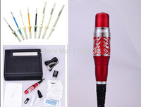 Wholesale Red Dragon Machine - Wholesale- Professional Red Dragon Machine Kits Permanent Makeup Cosmetic Rotary Tattoo machine Complete Set