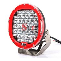 Wholesale 4x4 Cover - 2PCS 9inch 185W Led Driving Work Light 4x4 Offroad Lights with Free Cover For Truck 4WD SUV ATV CAR 12V 24V External Lights