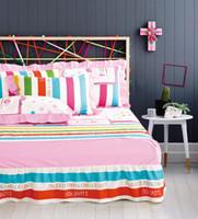 Wholesale Child Slant - Textile - 100% cotton bed skirt four piece set slanting 100% cotton