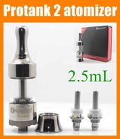 Wholesale Protank Ii Atomizer Tank - High quality Kanger Protank 2 atomizer 2.5ml pro tank 2 glassmizer protank ii fit for vision spinner 2 3 mini protank in box AT038