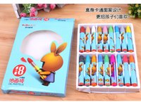 Wholesale Art Crayons - 18 Colors Drawing For Kids Paint Children Painting Crayons ART Oil Pastel Stick Learning & Education Toys