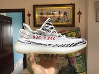 2017 ORIGINALS 350 BOOST V2 ZEBRA SPLY-350 NERO BIANCO NERO ROSA RUNNING SHOES PER UOMO KANYE WEST SPORT SHOES DONNA BOOST 350