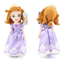 Wholesale Cartoon Doll Sofia - Sofia the First Children's Toys Girls Dolls Princess Baby Toy Retail Free Shipping