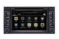Wholesale Car Head Unit Usb Bluetooth - Android 4.4 Head Unit Car DVD Player GPS Navigation for Volkswagen VW Touareg 2002-2010 with Radio Bluetooth TV USB SD Video WIFI