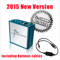Wholesale Unlock Version - 2015 New Version Full activated Octopus Box for LG and for Samsung with 19cables(with optimus cable) Unlock Flash & Repair DHL Free shipping