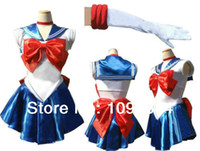 Wholesale sailor moon cosplay - hot selling Sailor Moon Costume Sailor Moon cosplay Fancy Dress costume
