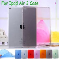 Wholesale Crystal Ipad Mini Cover - Ultra-thin Transparent Crystal Raindrops Skin Durable Silicon Soft TPU Cover for ipad Air2 Air 2 ipad mini 2 3 4 Tablet Case
