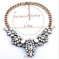 Wholesale Diamante Wings - Lovely Luxury Elegant Charm New Design Rhinestone necklace & Classic Diamante wings statemen necklace for women N00119