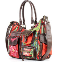 Wholesale Red Womens Oxfords - 2018 Women Totes embroidery Girls Brand Luxury Designer Ladies Leather Handbags Spanish style Womens why Bags Shoulder Bags