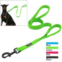 Wholesale Great Handles - 2 Handles Nylon Padded Double Handle Leash For Greater Control For Medium Large Dog Dual Padded Handles Protect Dog In Traffic