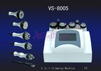 Wholesale Equipment Cavitation Slimming - EU tax free 6in1 Radio Frequency machine Ultrasonic Cavitation Slimming Vacuum RF BIO Skin Lift weight loss Equipment