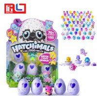 Wholesale Baby Collection Dolls - Hatchimal Eggs Collection 1 Nest 4 Eggs + Bonus Baby Novelty toy Chrimas Gifts for Kids Free Ship via DHL