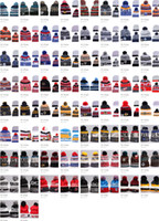 Wholesale hip hop style beanie hats - 66 styles NHL Women Winter Knitted Wool Cap Blackhawks Penguins Flyers Sharks Beanies Unisex Casual Hats & Caps Men Hip-Hop Beanie Warm Hat