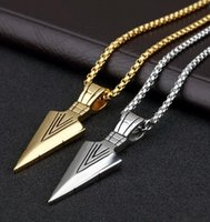 Wholesale Arrowhead Charms - NEW FASHION Long style sweater chain with arrowhead 54CM