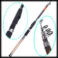 Wholesale Boat Pole Hook - by DHL or EMS 50 pieces 2.7m Carbon fiber Portable Telescope Fishing Rod Travel Spinning Fishing Pole for Sea Boat fishing