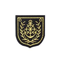 anker-eisen-patches großhandel-10 Stück Anker Abzeichen Patches für Kleidung Taschen Eisen auf Transfer Applique Patch für Jacke Jeans Nähen auf Stickerei Abzeichen DIY
