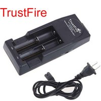 Wholesale trusted fire charger for sale - Group buy Free Epacket High Quality Trust fire Trustfire Battery Charger Mod Charger for Rechargeable Battery EU or US