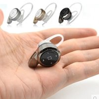 Wholesale Super Small Bluetooth Headset - Mini A8 Bluetooth v4.0 Headset Super Small Snail Wireless Earphone Headphone Multi-point Music For iPhone Samsung HTC