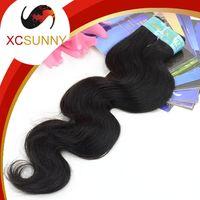 Wholesale Brazilian Body Wave Hair 1pcs - Wholesale XCSUNNY 1pcs Body Wave 100% Brazilian Virgin Hair Weave Human Hair Extensions