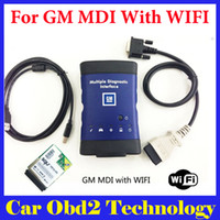 Wholesale Gm Mdi Multiple Diagnostic Interface - Best Quality for GM MDI Multiple Diagnostic Interface with Wifi Card for GM MDI Auto Scanner Without Software by DHL Free