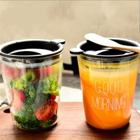 Wholesale Milkshake Cups - English Letter Tumblers Heat Resisting Milkshake Fruit Juice Cup Good Morning Mug For Milk Smoothie Drinkware 5 5hz C