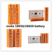 Wholesale E Cig B - new Mnke 26650 3500mAh Mnke 18650 1600mAh Flat Top imr Rechargable lithium Battery for e cig 18650 26650 Mod vs VTC 4 5 ultrafire B 0204139