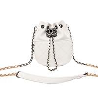 Wholesale American Splits - New Vintage Women Messenger Bags Girls Chain Small Shoulder Bags Ladies Lock Crossbody Bag For Women Handbags