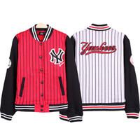 Wholesale Letterman Baseball - Fall-College Baseball Jacket Men Hip Hop Streetwear Jackets American Brand Sport Coat Mens Varsity Letterman Jackets