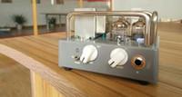 Wholesale Guitar Amp Tone - Wholesales Custom OEM All Tube Electric Guitar Amplifier Head Biyang Wangs VT-1H AMP Head Adjust Volume And Tone Free shipping