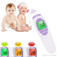 Wholesale Baby Digital Electronic Thermometer - Electronic Thermometer Muti-fuction Baby Digital Thermometer Adult Body Forehead Infrared Thermometer baby Thermometer for free shipping