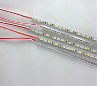 Indoor Led Signage online - 0.5M 4MM Width 5730 72leds m LED Strip Rigid Bar Edgelit Sidelight for Slim LED Signage Cystal Light Box LED Menu