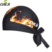 Wholesale Scarves Men Professional - Wholesale-bufanda de bicicleta CheJi Professional Sports Cycling Headband MTB Fire Headscarf Quick Dry Breathable Cycling Bandana Scarf